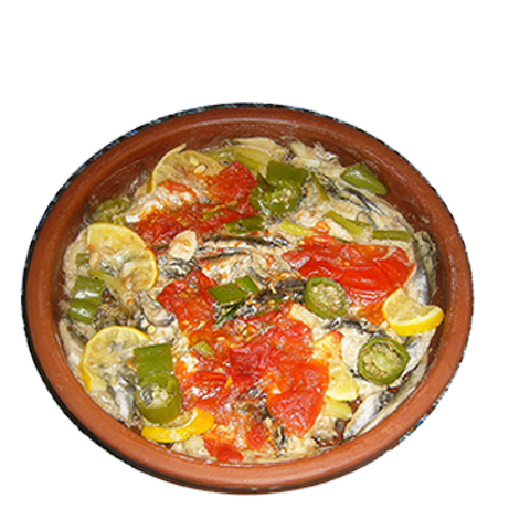 103) Anchovy With Vegetables