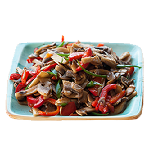 106) Mushrooms With Vegetables