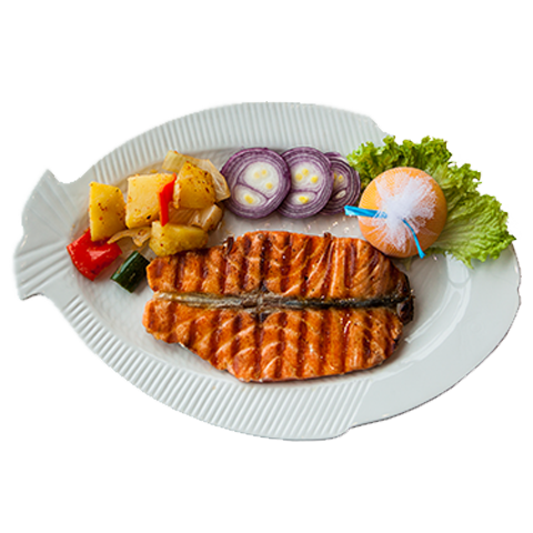 94) Salmon (Grilled/Pan Fried)
